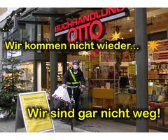 Buchhandlung Otto bringts! Abholstation und Lieferung