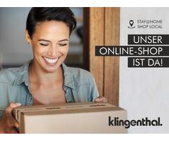 KLINGENTHAL Online-Shop und Call&Collect